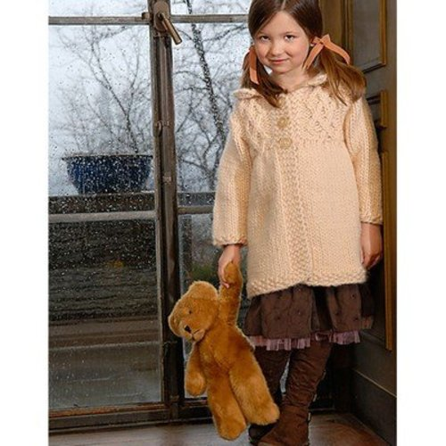 Blue Sky Fibers Girl's Smocked Coat -  ()