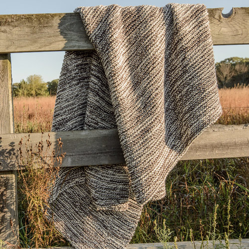 Blue Sky Fibers Goodview Garter Throw PDF -  ()