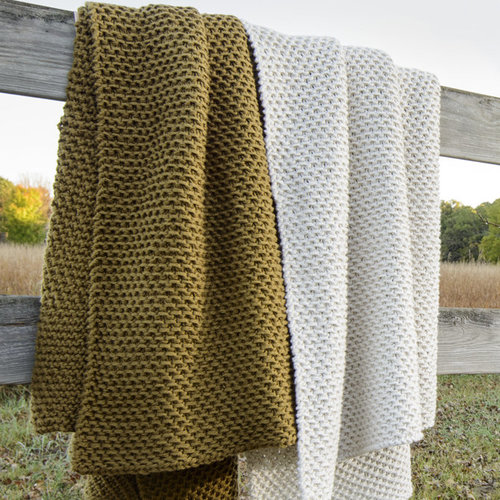 Blue Sky Fibers LaGrand Throw PDF -  ()