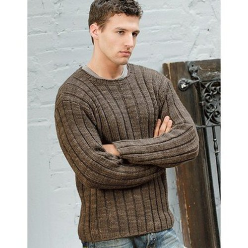 Blue Sky Fibers Men's Ribbed Sweater -  ()