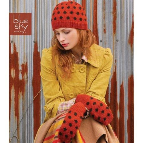 Blue Sky Fibers Polka Dot Hat Set -  ()