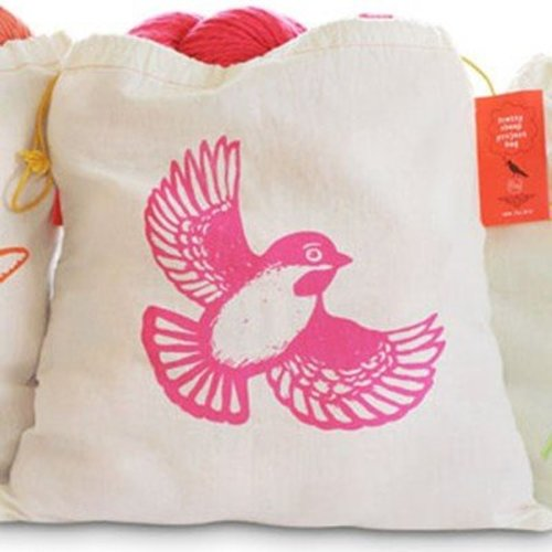 Blue Sky Fibers Pretty Cheep Project Bags - Berry (BERRY)
