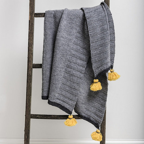 Blue Sky Fibers Scandia Throw PDF -  ()
