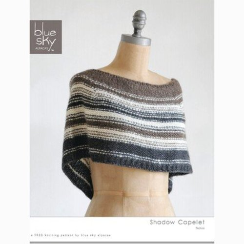 Blue Sky Fibers Shadow Capelet (Free) -  ()