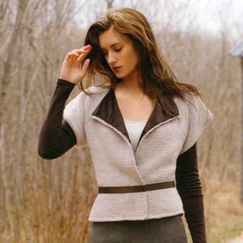 Blue Sky Fibers Shaped Vest -  ()