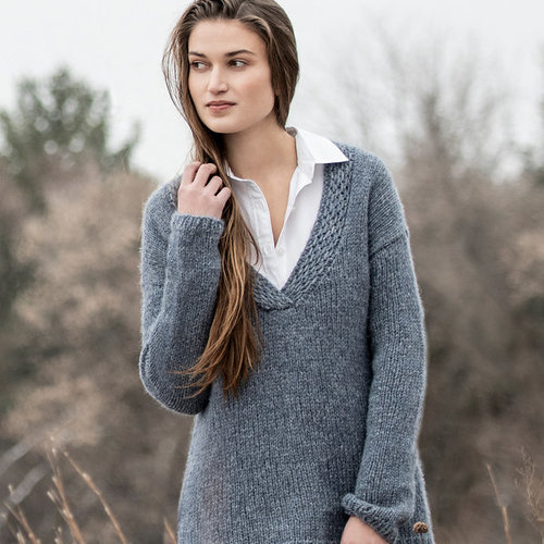 Blue Sky Fibers Silver Lake Sweater PDF -  ()