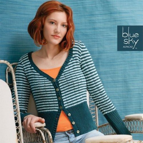 Blue Sky Fibers Skinny Cardigan -  ()