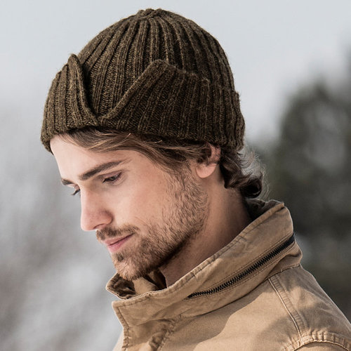 Blue Sky Fibers Split Rib Hat PDF -  ()