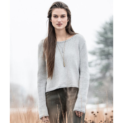 Blue Sky Fibers Spring Hill Sweater PDF -  ()
