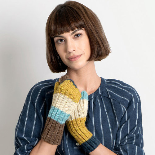 Blue Sky Fibers Virginia Mitts PDF -  ()