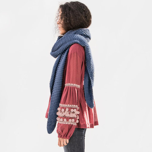 Blue Sky Fibers Waverly Wrap Kit - Bluefin - Model (1)