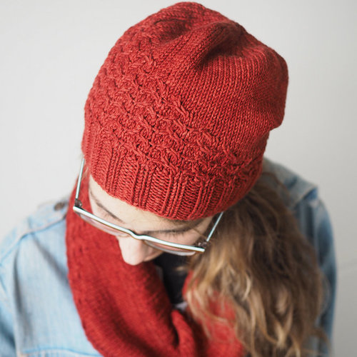 Bristol Ivy Titian Hat and Cowl PDF -  ()