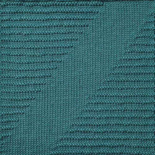 Cascade Yarns 2019 Knitterati Knit-Along Diagonal Afghan Kit - Teal (1)