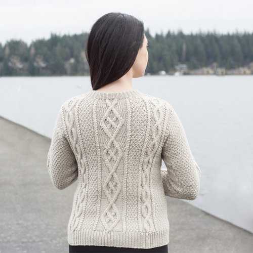 Cascade Yarns A317 Longwood Sehome Pullover (Free) -  ()