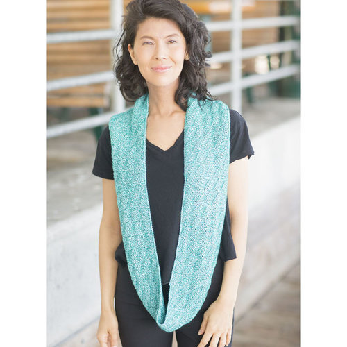 Cascade Yarns A332 Parallelogram Infinity Scarf (Free) -  ()