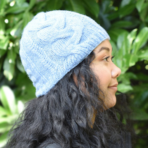Cascade Yarns A337 Braided Fibers Hat (Free) -  ()