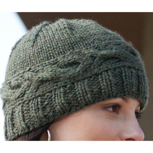 Cascade Yarns C192 Cabled Band Hat (Free) -  ()