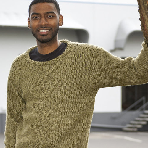 Cascade Yarns C200 Celtic Cables for Him (Free) -  ()