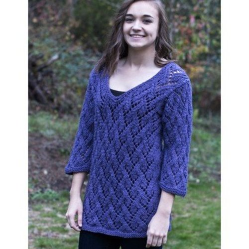 Cascade Yarns C289 Arcadian Lace Pullover (Free) -  ()