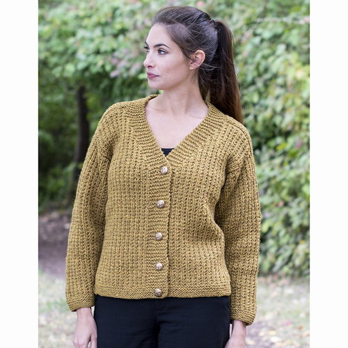 Cascade Yarns C307 Saddle Shoulder Cardigan (Free) -  ()