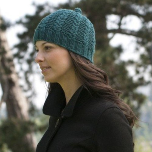 Cascade Yarns DK197 Garter Rib with a Twist Hat (Free) -  ()