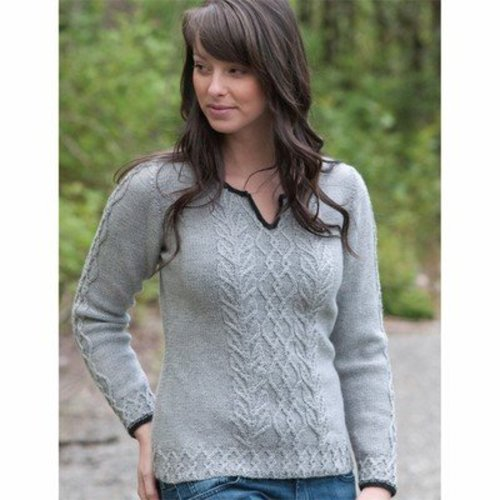 Cascade Yarns DK230 Graceful Cabled Tunic (Free) -  ()