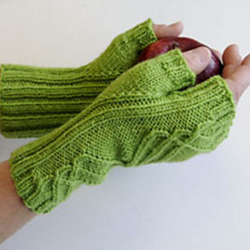 Cascade Yarns DK245 Winding Way Mitts (Free) -  ()
