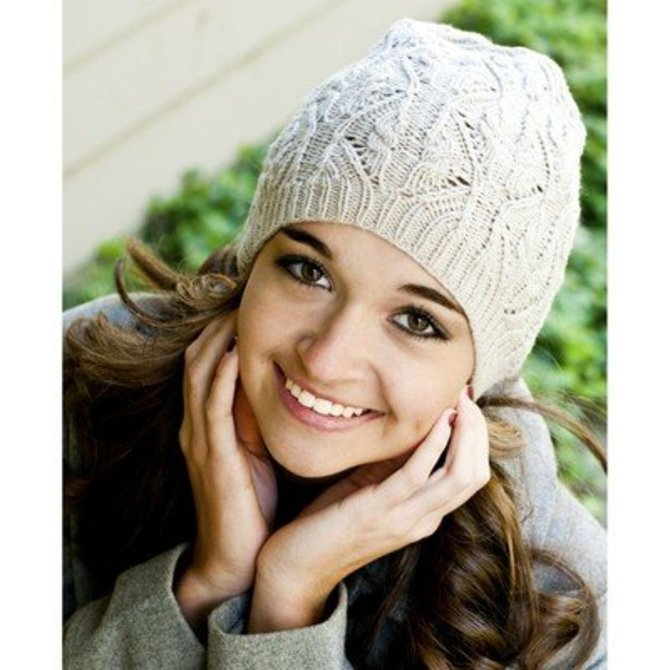 Cascade Yarns Dk335 Longwood Sport Lace And Cable Hat Free At Webs