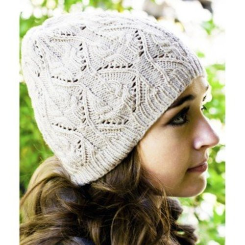 Cascade Yarns DK335 Longwood Sport Lace and Cable Hat (Free) -  ()
