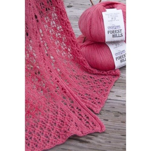 Cascade Yarns FW187 Forest Hills Lace Scarf (Free) -  ()