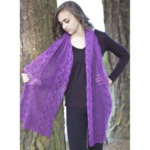 Cascade Yarns FW192 Forest Hills Dayflower Wrap (Free) -  ()