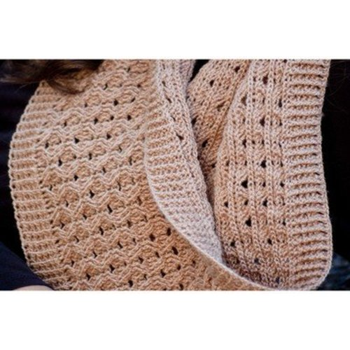 Cascade Yarns FW194 Ailish Honeycomb Neck Scarf (Free) -  ()