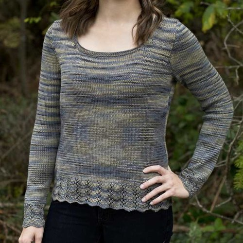 Cascade Yarns FW214 Scoop Neck Top (Free) -  ()