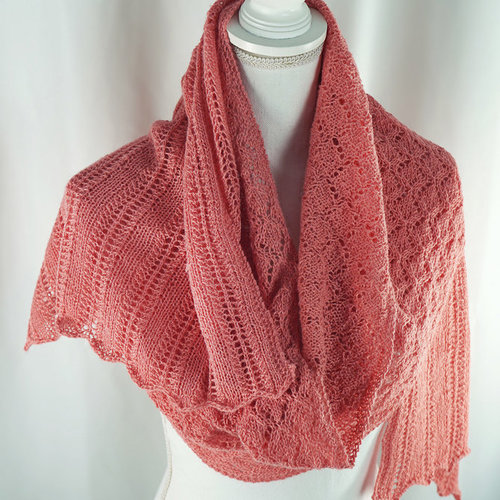 Cascade Yarns FW280 Coral Reef Stole (Free) -  ()