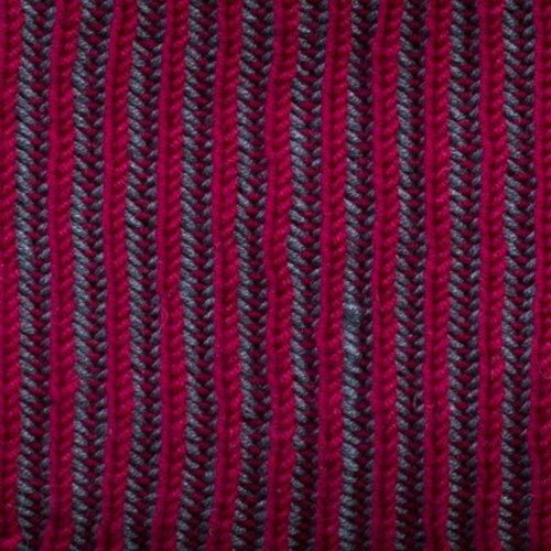 Cascade Yarns Vertical Stripes Brioche Cowl (Free) -  ()