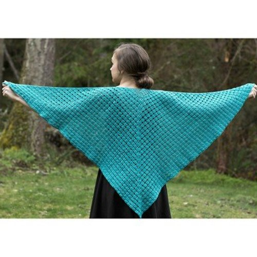 Cascade Yarns W224 Haven Shells Shawl (Free) -  ()
