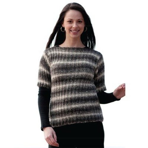 Cascade Yarns W242 Magic Rib Sweater (Free) -  ()