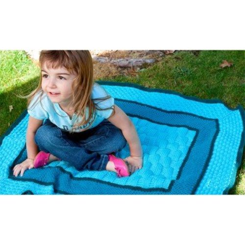 Cascade Yarns W363 Start-in-the-Center Baby Blanket (Free) -  ()
