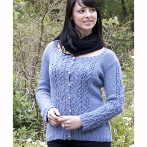 Cascade Yarns W435 Cloud Everyday Cardigan (free) -  ()