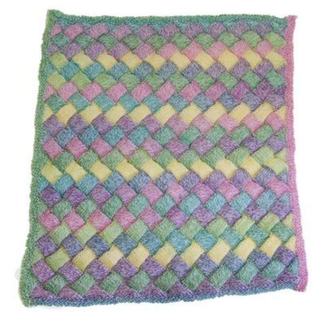 Cascade Yarns W508 Entrelac Baby Blanket Free At Webs Yarn