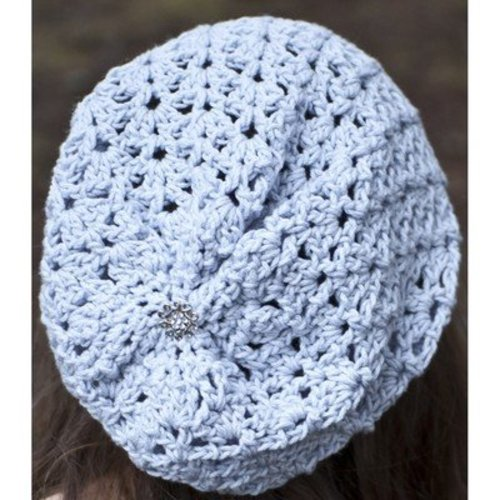 Cascade Yarns W528 Avalon Summer Slouch Hat (Free) -  ()