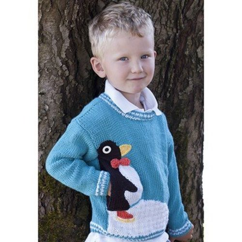 Cascade Yarns W548 Penguin Pullover (Free) -  ()