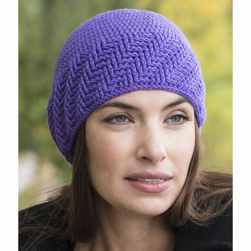 Cascade Yarns W663 Swirls Hat (Free) -  ()