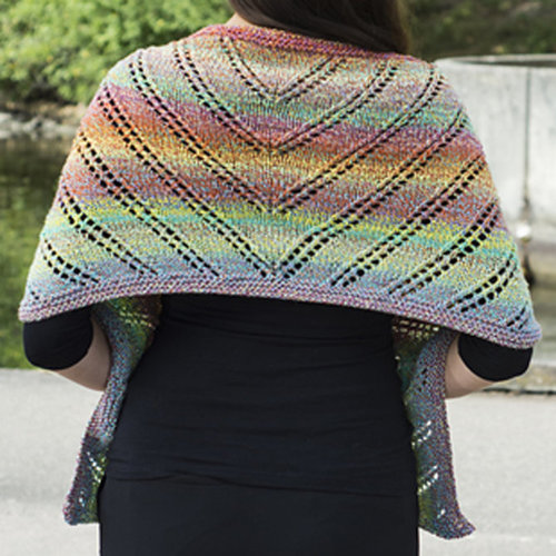 Cascade Yarns W689 Rainbow Wrap (Free) -  ()