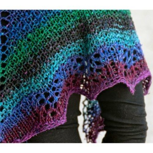 Cascade Yarns Waves Shawlette (Free) -  ()