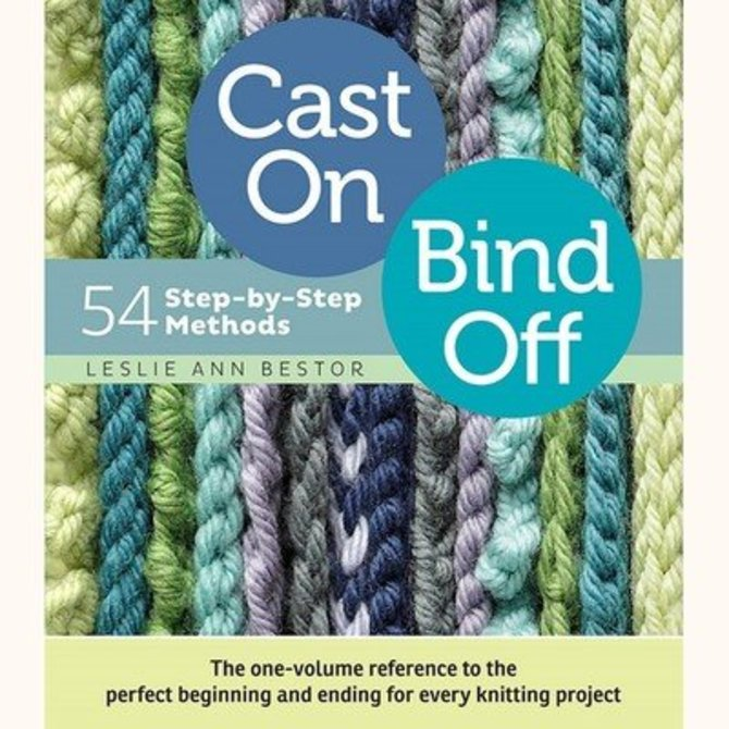 Cast On Bind Off At Webs Yarn