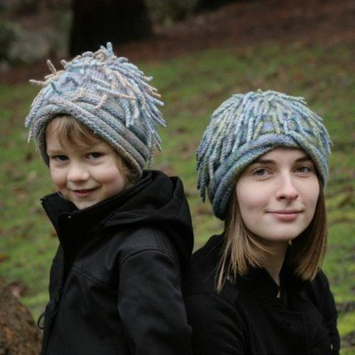Cat Bordhi Anemone Hats PDF -  ()