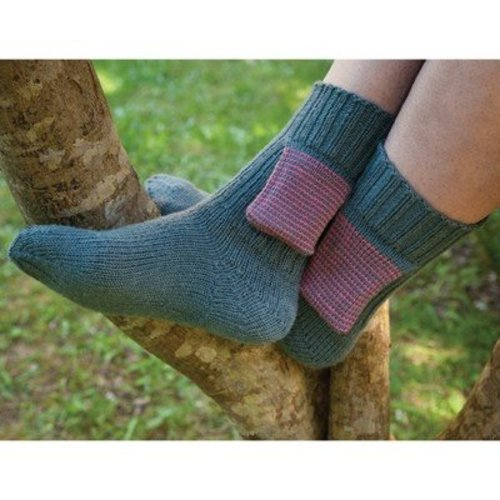 Cat Bordhi Hidden Treasure Pocket Sock PDF -  ()