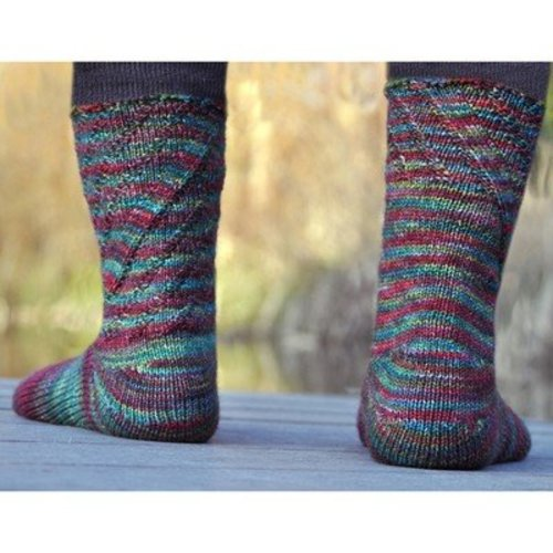 Cat Bordhi Sweet Coriolis Socks PDF -  ()