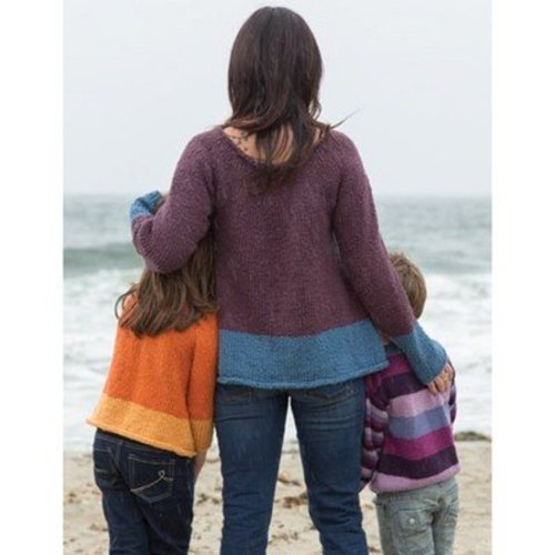 Classic Elite Yarns 1405 A Day at the Beach - Download (1405PDF)